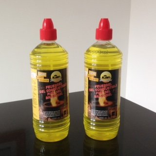 Fire Gel or Gel Fuel for Gel Burners