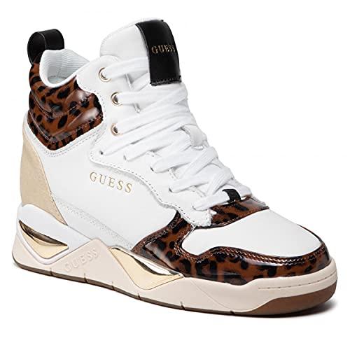 Guess Scarpe Donna Sneaker Pelle FL7DENPEL12 While