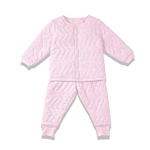 i-baby Conjunto de Traje de bebé de algodón Pima Premium Matelasse, empacado en Caja (18-24meses, Rosado)