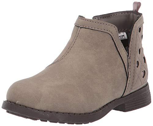 OshKosh B'Gosh Girls' Raine Fashion Boot, Taupe, 9 M US Toddler