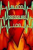 Blood Pressure Log: 6'x9' 120pg Pocket Sized BP Log