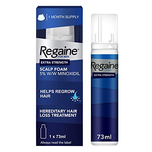 Regaine for Men Hair Loss & Regrowth Scalp Foam Treatment with Minoxidil, 73 ml, 1 Month Supply