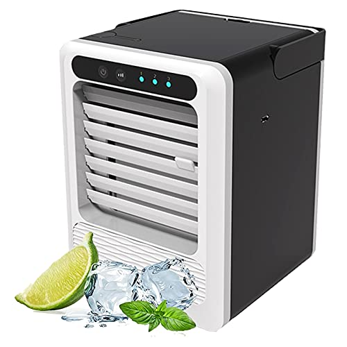 WSWD Ventilador de Aire Acondicionado portátil, Ventilador de Escritorio de Ahorro de energía, Mini refrigerador de Aire doméstico, Oficina de Interfaz USB de Oficina dor