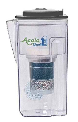 Acala Quell One Anthrazit - Aktivkohle Wasserfilter mit höchster Filterleistung | Kreiert köstlich schmeckendes, wohltuendes Wasser