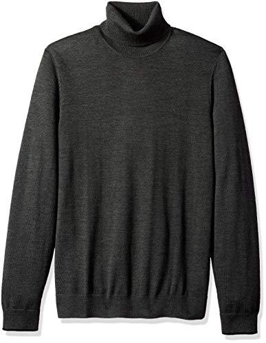 Mens Extra Fine Merino Turtleneck Sweaters