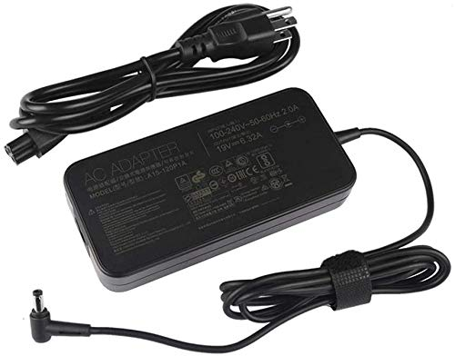 KK LTD fit for 120W AC Adapter Charger Replacement fit for ASUS VivoBook Pro 17 N705FD N705FD-DS77 N705FD-ES76 N705FD-GC003T N705FD-GC005T N705FD-GC009T N705FD-GC018T N705FD-GC025R N705FD-GC028T