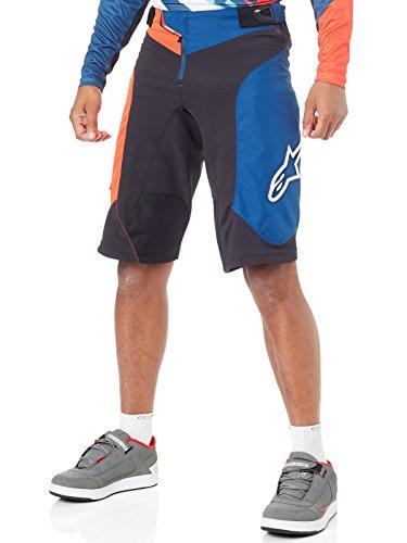Alpinestars Vector Shorts, Nero, Uomo, Black En Orange