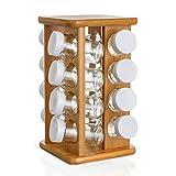 Especiero giratorio en bambú - 3