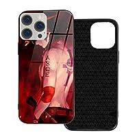 Iphone 12 シリーズ 携帯カバー スマホケース ワンピースone Piece Ace 強化ガラスケース ハードケース 電話の殻 Iphone12 Pro Max-6.7
