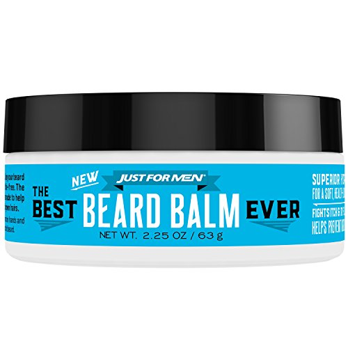 Just For Men The Best Beard Balm Ever, Stlying Balm with Oatmeal, Aloe, Chamomile, and Jojoba Oil, 2.25 Fluid Ounce