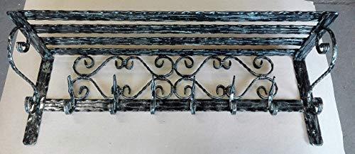 Vintage Garderobe Haken Regal Flur Möbel handgefertigte Lagerung Lösungen Einheit Kleiderschrank Kleider hängen Kleidungsorganisator Eingangsbereich Aufhänger (Länge 40-150 cm)