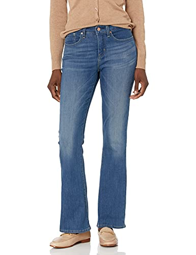 Signature by Levi Strauss & Co Women's Totally Shaping Bootcut Jeans, Rhapsody, 14 Medium