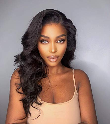 LuvMe Hair Undetectable HD Lace Wig Body Wave Glueless Transparent 13x4 Lace Frontal Wig Human Hair For Women 22 Inch