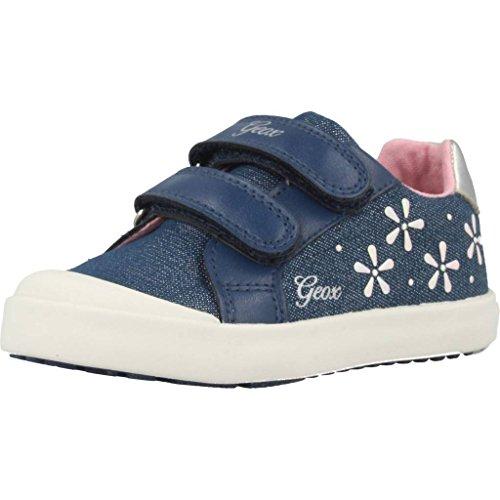 Geox Baby Mädchen B Kilwi Girl C Sneaker, Blau