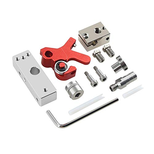 Extruder Retrofit Kit TPU Flexible Filament Short Range Extruder for ABS/PLA/PETG 1.75mm Consumables 3D Printing Accessories