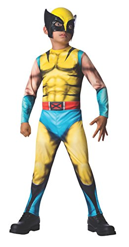 Rubies Marvel Universe Classic Collection Wolverine Costume, Child Large by Rubie's