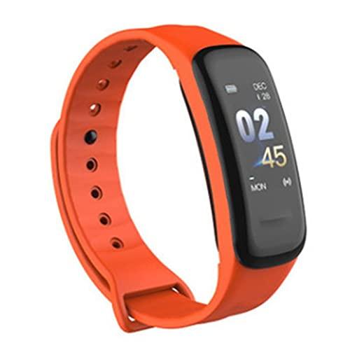 Ydh Impermeable C1 Plus Smartband Pantalla a Color Monitor de Ritmo cardíaco Fitness Tracker Pulsera Smartwatch para Hombres