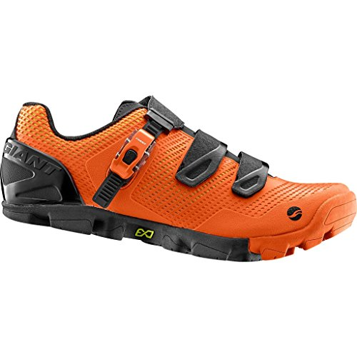 Giant Scarpe Flow Mountain Bike MTB Shoes Orange Arancioni EU 42 USA 9 UK 8