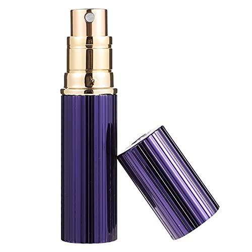 PIXNOR Botella de Spray Recargable Mini Botella Vacía Niebla Fina Fragancia Perfume Botella de Muestra Contenedores de Maquillaje 5Ml Azul