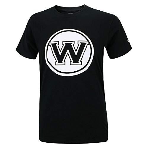 New Era NBA GOLDEN STATE WARRIORS Team Apparel Tee T-Shirt, Größe:M