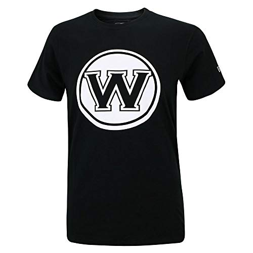 New Era NBA GOLDEN STATE WARRIORS Team Apparel Tee T-Shirt, Größe:L