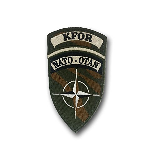 Patch KFOR NATO-Otan Kosovo Force Truppe Army Soldaten Militär #25105