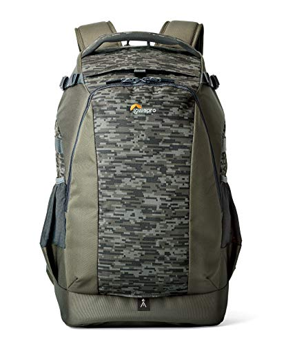 Lowepro LP37132-PWW, Flipside 500 AW II Camera Backpack, Mica/Camo, AW All Weather Cover, Fits Pro DSLR with Lens, Extra Bodies & Lenses, Laptop or Tablet