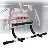 Achirarko Pull Up Bar,New Perfect Multifunctional Portable Indoor Fitness Chin Up Bar,Home Gym