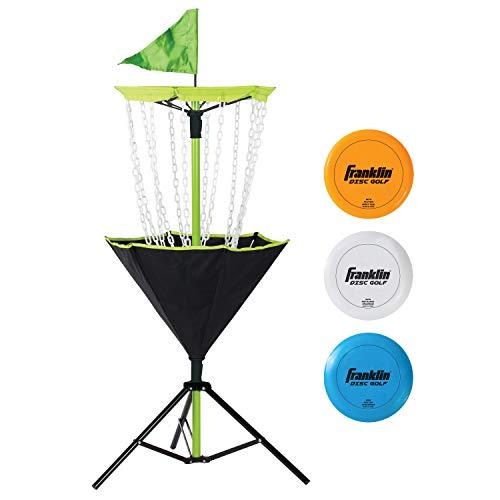 Franklin Sports Disc Golf Set – Disc Golf – Includes Disc Golf...