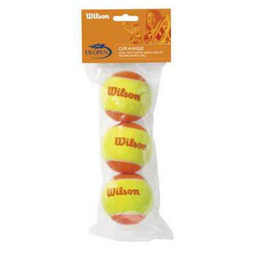 Wilson Youth Tennis Balls - US Open Orange, Single Can (3 Balls) thumbnail image
