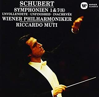 シューベルト:交響曲第1番、第7(8)番「未完成」