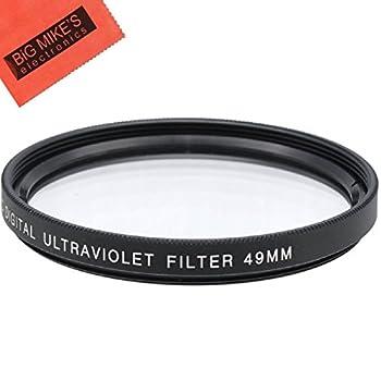 49mm UV Filter for Canon EF 50mm f/1.8 STM Lens
