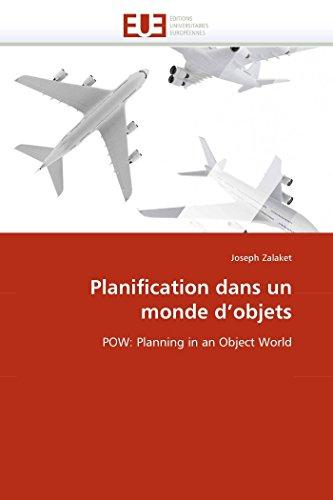 Planification Dans un Monde d''Objets