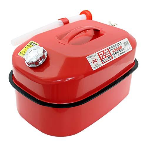 メルテック ガソリン携行缶 20L 消防法適合品 KHK [亜鉛メッキ鋼鈑] 鋼鈑厚み:0.8㎜ 積重ねタイプ Meltec F...