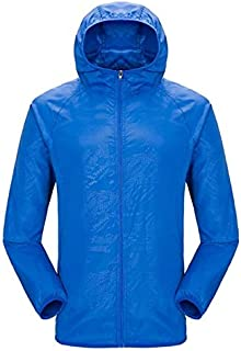 BEESCLOVER New Quick-Drying Sunscreen Jacket Hiking Camping Running Jacket