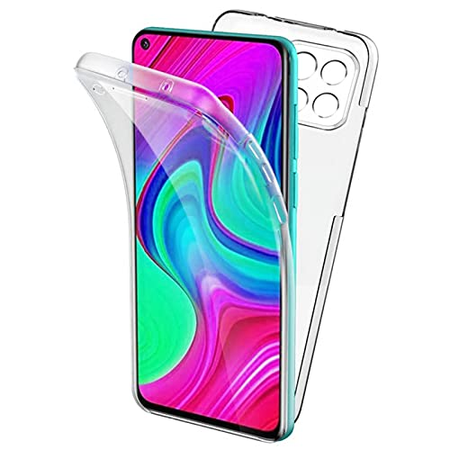 TBOC Funda Compatible con Xiaomi Mi 11 Lite - Xiaomi Mi 11 Lite 5G [6.55'] - Carcasa [Transparente] Completa [Silicona TPU] Doble Cara [360 Grados] Protección Integral Delantera Trasera Lateral Móvil