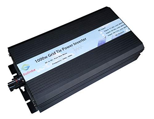 Solinba 1000w Grid Tie Solar Inverter DC46v-114v to AC 220v UK Plug + EU Adapter