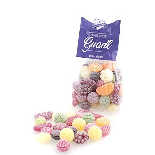 Bayrische Guadl, Süßigkeiten aus Bayern, Ausgefallene Geschenkidee von Bavariashop, 150 g Fruchtbonbon Mix