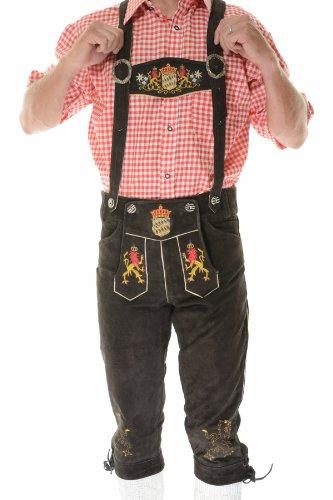 Lederhosen Costume Bayern, Oktoberfest Costumes, Bavarian Costume, German Outfit, 32 Dark Brown