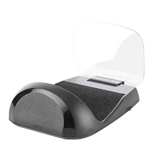 Head Up Display, HUD Monitor Multifuncional Plug And Play Multicolor Con Alarma De Exceso De Velocidad Y Alarma De Bajo Voltaje Para Cualquier Vehículo Para Automóvil