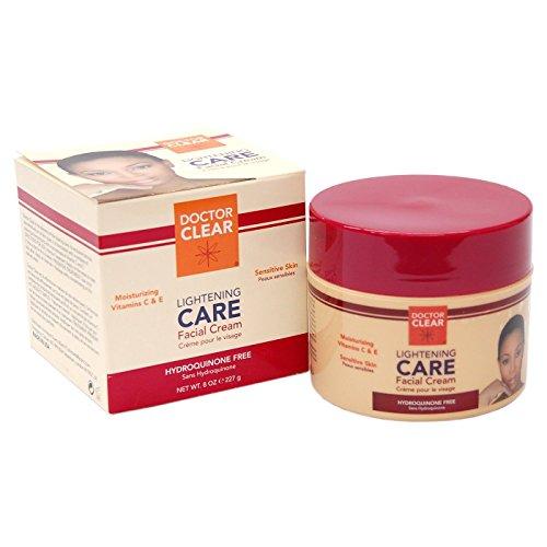 Doctor Clear Lightening CARE Facial Cream (Double Strength) 8oz