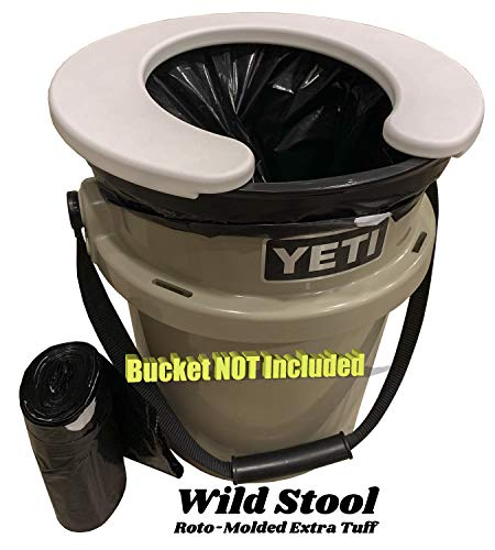 Wild Stool for YETI Load Out \& All 5 Gallon Buckets