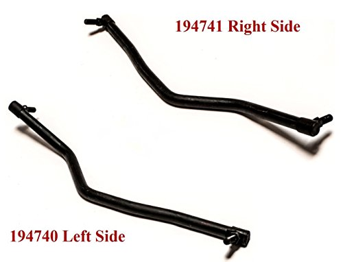 Jeremywell Two Drag Links 194740 Left and 194741 Right Hand Steering fits Craftsman Husqvarna