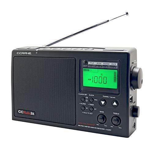 C. Crane CCRadio-2E Enhanced Portable AM FM Weather and 2-Meter Ham...