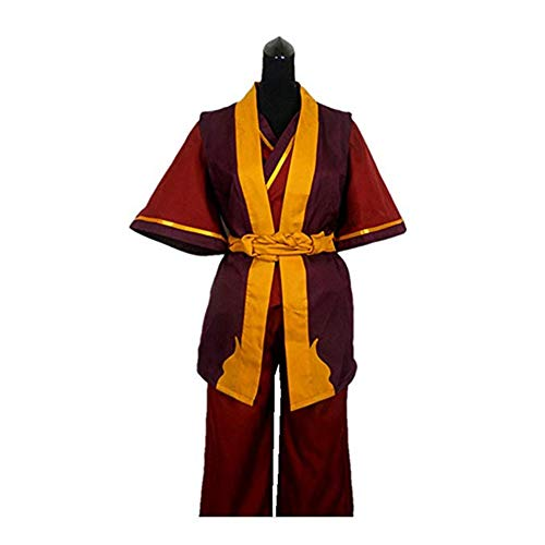 Anime Avatar The Last Airbender Prince Zuko Cosplay Costume Custom (Male S)