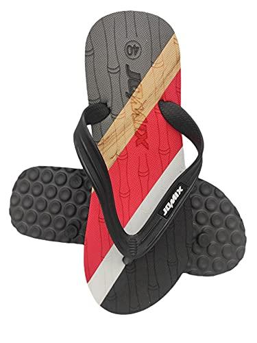 Jomix - Chancla de Caballero - Zapatillas de Dedo - Comodidad - Verano - Playa - Piscina - Gimnasio - Ducha (rojo, numeric_40)