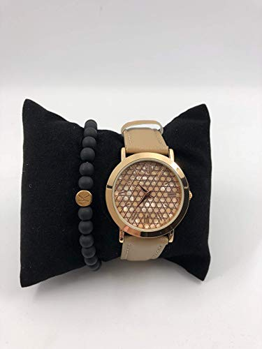 Geschenkset - Personalisierbares Polaris Armband & Excellanc Damenuhr