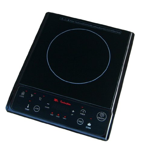 SPT Sunpentown SR-964TB 1300W Induction in Black (Countertop), 11.8 x 14.2 x 2.5 Inch, Gray