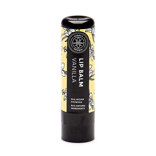 Simply Herbal Lip Balm Vanilla with Herbal Oil and Butter blend (5ml)