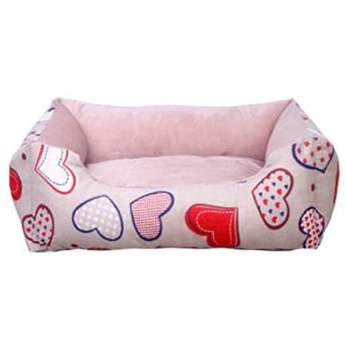 Washable Pet Sofa Lounger Bed Winter Warm Short Plush Dog Mattress Comfortable Cotton Puppy Cat Sleeping Couch